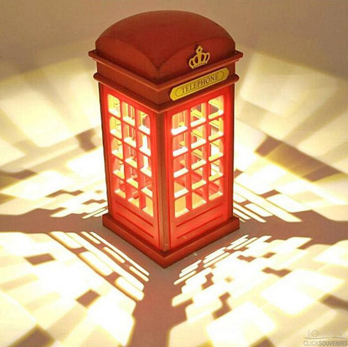 Telephone Box with Realistic Lights