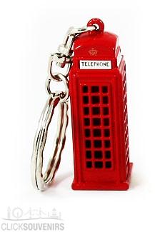12x Telephone Box Keyrings Bulk Special Offer