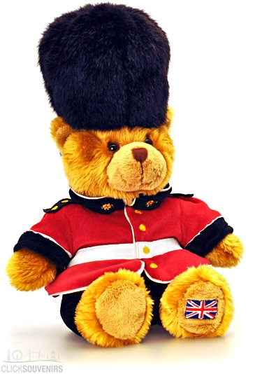 15cm Royal Guardsman Teddy Bear