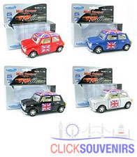 36x Union Jack Mini Cooper Model Car Bulk Offer