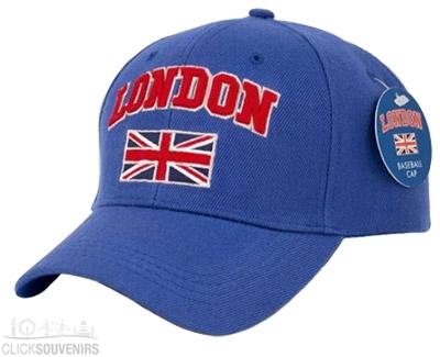 Blue London Baseball Cap