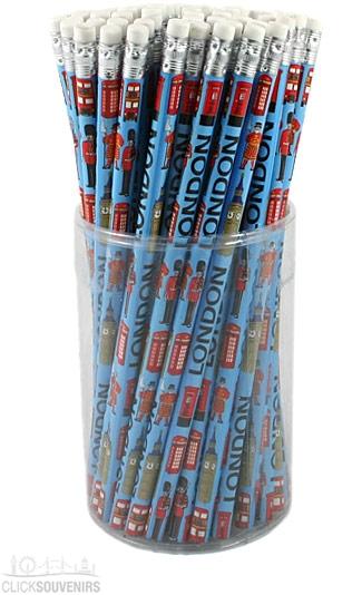 72 Blue London Pencils