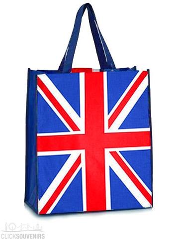 British Union Jack Flag Souvenir Shopping Bag