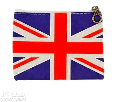Union Jack Zip Purse