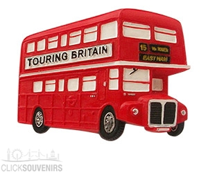 Red London Bus Magnet