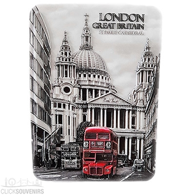 Contemporary London 3D Vinyl Magnet