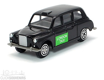 Diecast Metal Taxi Scale Model