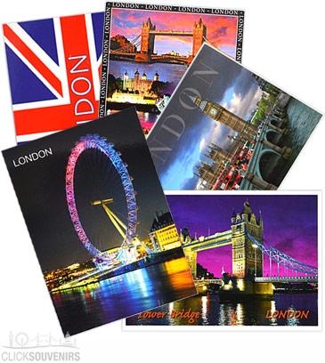 Five London Postcards