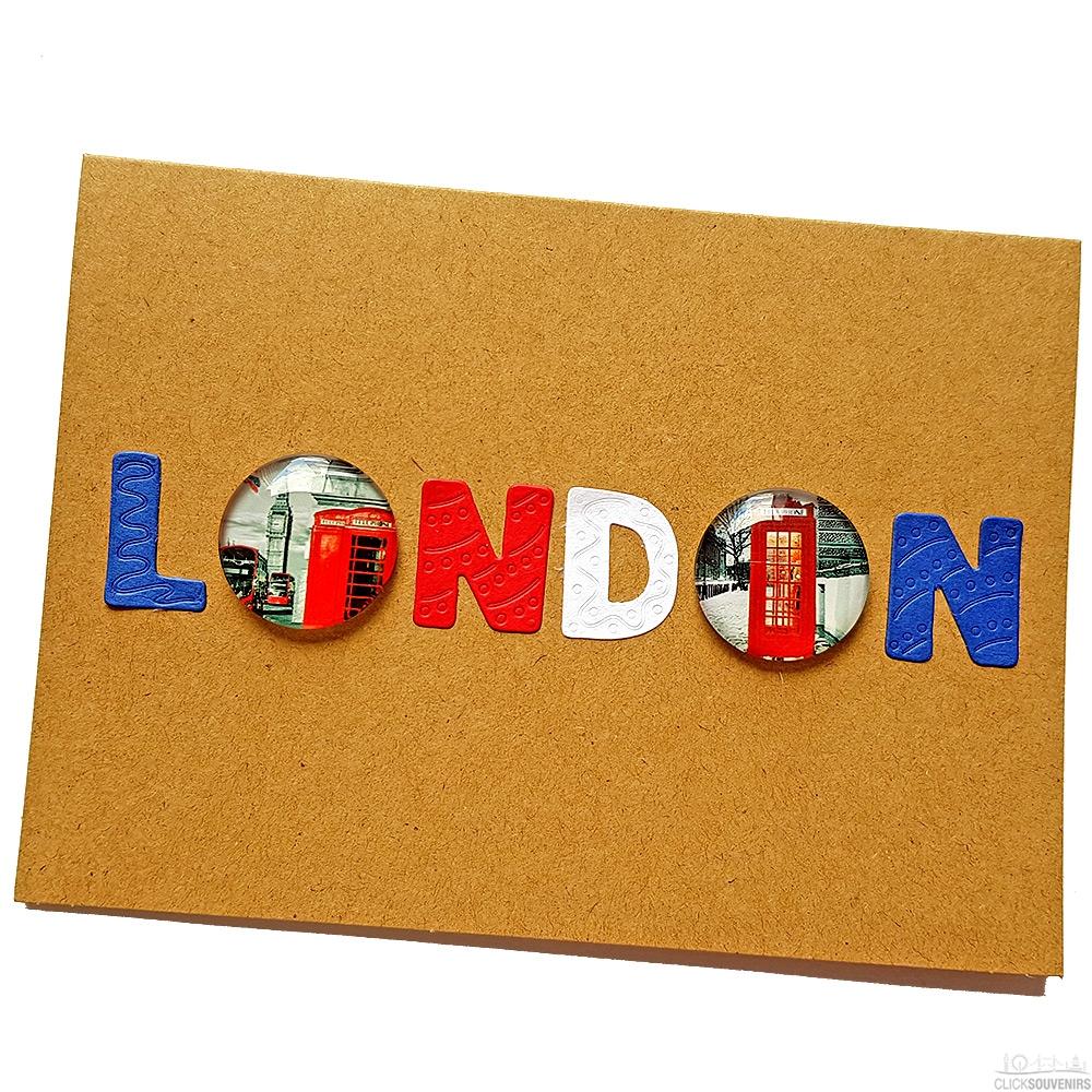 Handmade London Card