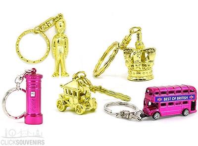 Five London Keyrings Set