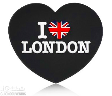 I Love London Heart Magnet