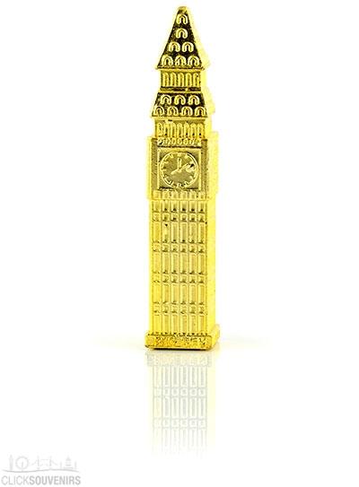 Large 3D Diecast Metal Big Ben Souvenir Magnet