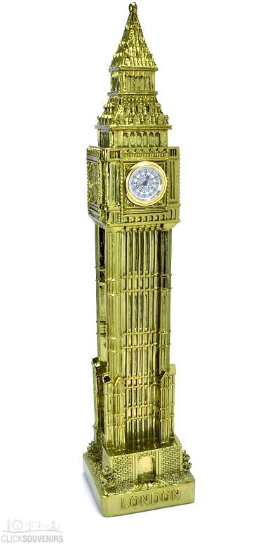 Large Metal Big Ben Clock 30cm