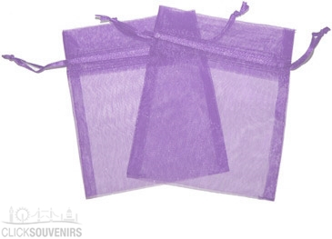 Lavender Organza Gift Bag 9 x 7cm