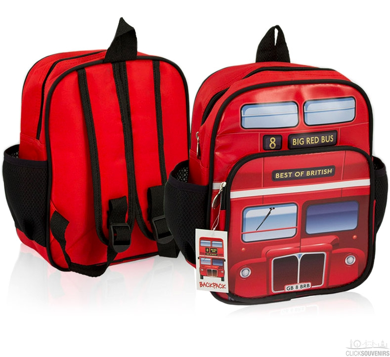 London Bus Backpack