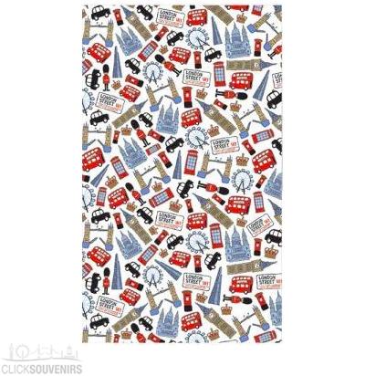 Lovable London Tea Towel