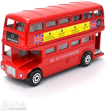 Large Double Decker Bus Model