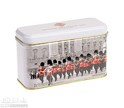 London Guards Tea Tin with 10 Teabags