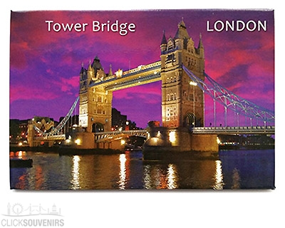 Picture Magnet with Tower Bridge & the River Thames