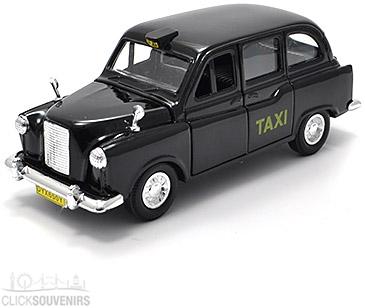 Black Cab Pullback Taxi Model
