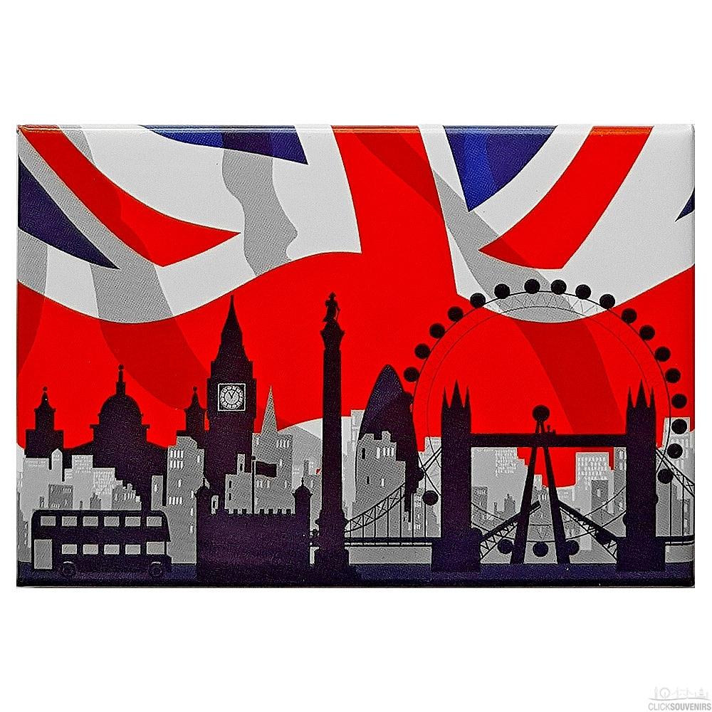 London City Skyline Magnet
