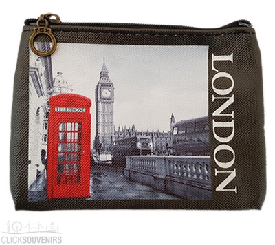 Photographic London Zip Purse