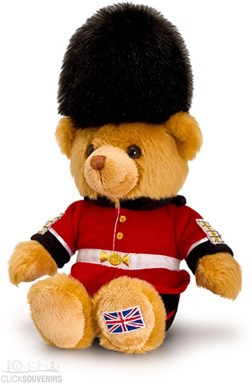 19cm Medium Royal Guard Teddy Bear