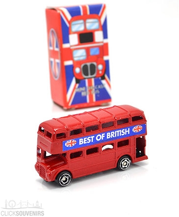 Miniature Bus Metal Model