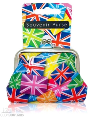 Multicoloured Union Jack Purse