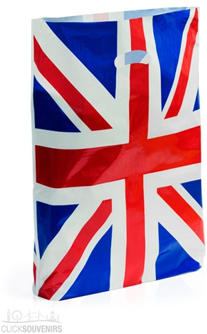 Plastic Union Jack Bag