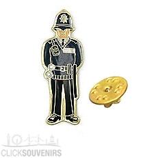 Policeman Metal Lapel Pin Badge
