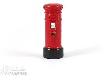 Red Die Cast Metal Post Box Magnet