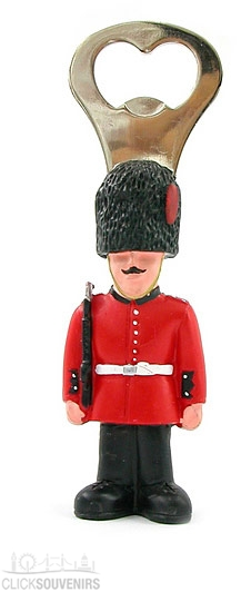 Resin Royal Guardsman Bottle Opener