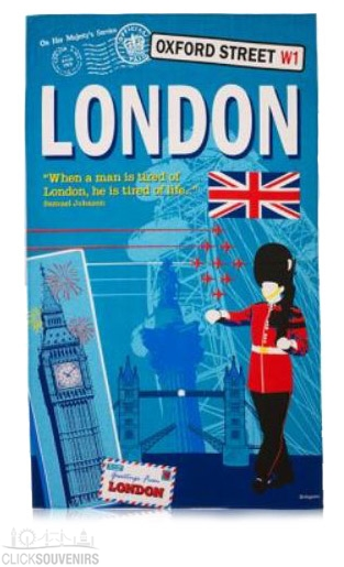 Scrapbook London Tea Towel