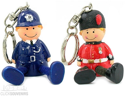 Gift Set of 2 Stringfella London Keyrings
