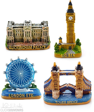 Gift Set of Four London Stone Models