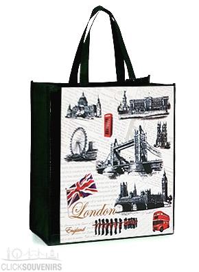 London Sights Non Woven Shopping Bag