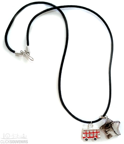 Smokey Quartz Bus Necklace