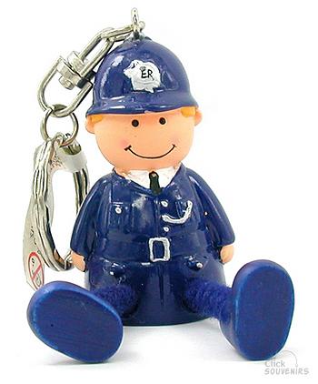 Stringfella Policeman Souvenir Keyring