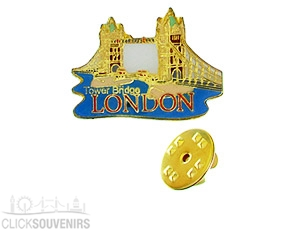 Tower Bridge Metal Lapel Pin Badge