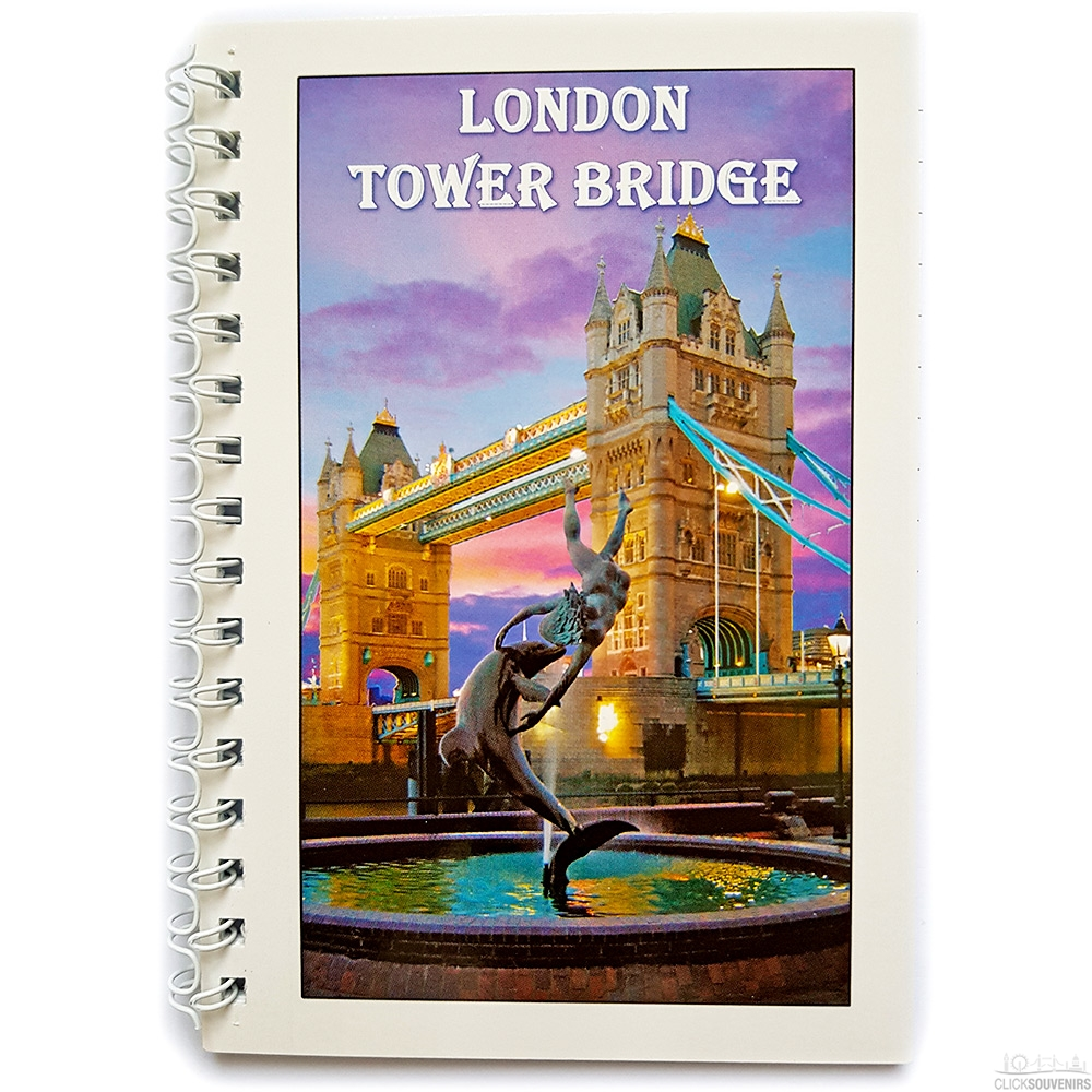 London Tower Bridge Note Book