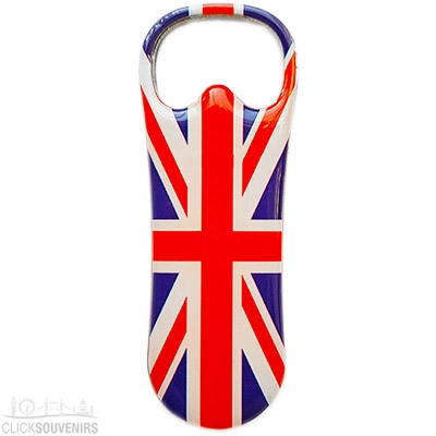 Union Jack Bottle Opener Magnet