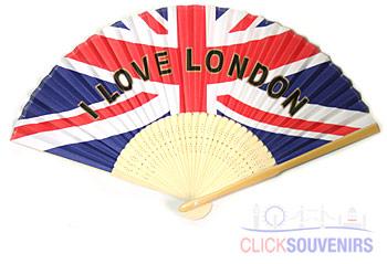 Paper Union Jack Fan