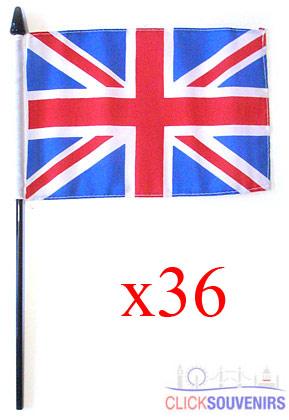 36x Handwaving Union Jack Flags 6 x 9 Bulk Offer