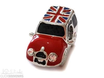 Union Jack Mini Cooper Bead for Charm Bracelet