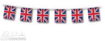 Rectangular GB Flag Union Jack Bunting