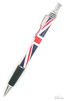 British Souvenir Union Jack Pen
