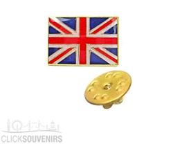 Union Jack Lapel Pin Badge