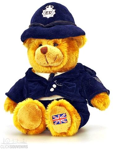 15cm Policeman Teddy Bear