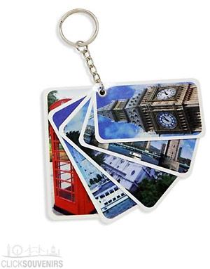 Views of the London City Keyring